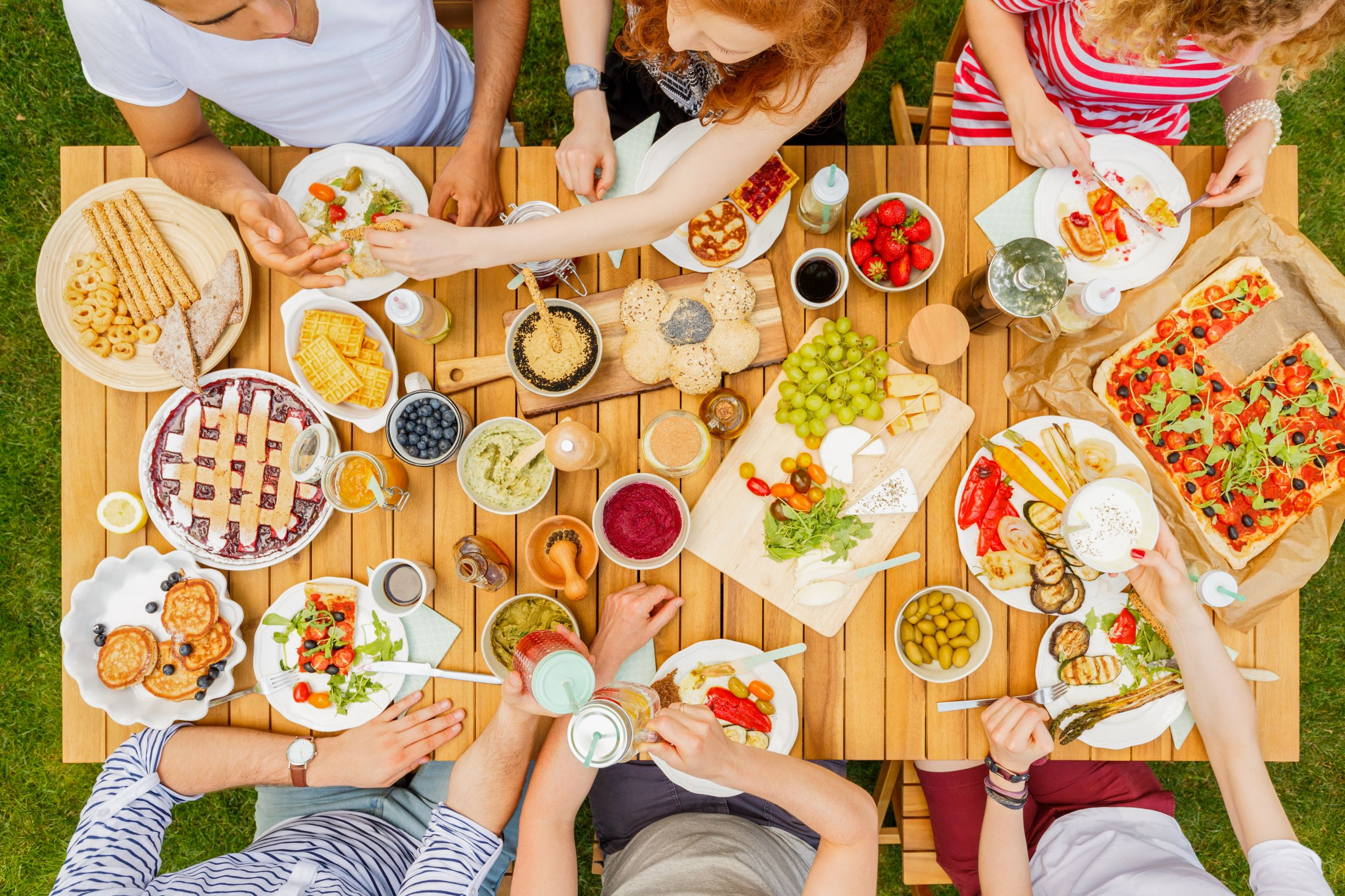 Vegetarian or Low-Carbon food at all events