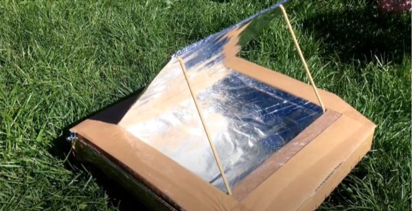 Life Science Centre – Make your own pizza box oven using solar power