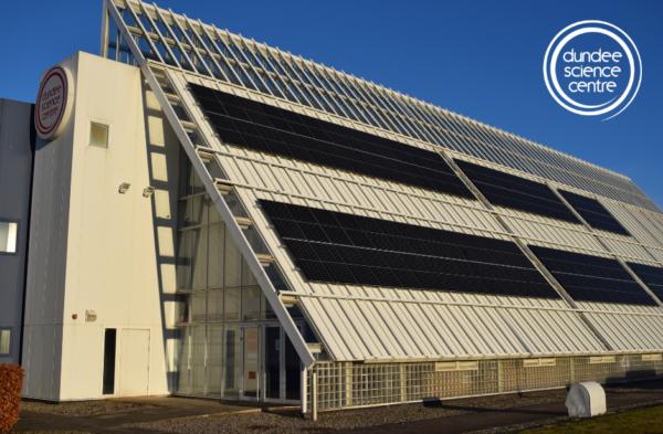 Dundee Science Centre – Solar Power