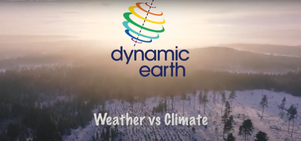 Dynamic Earth – Weather vs Climate