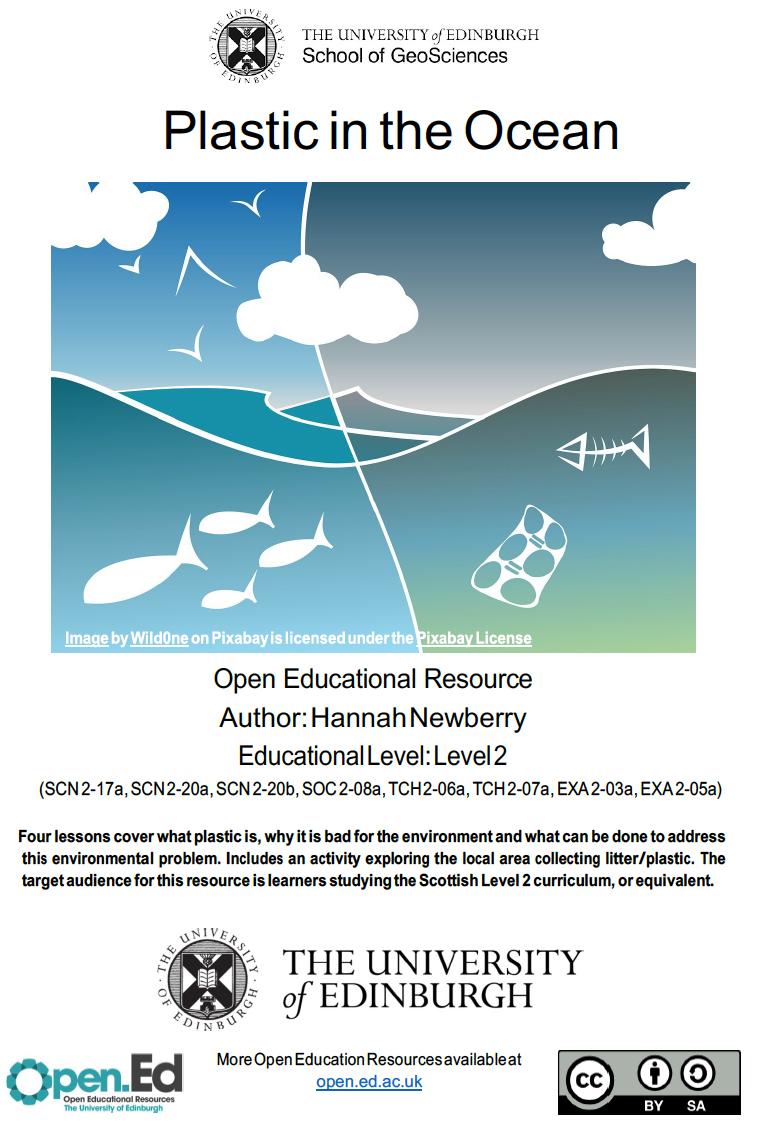 Plastic in the Ocean (University of Edinburgh open.ed)