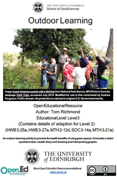 Outdoor Learning (University of Edinburgh, open.ed)