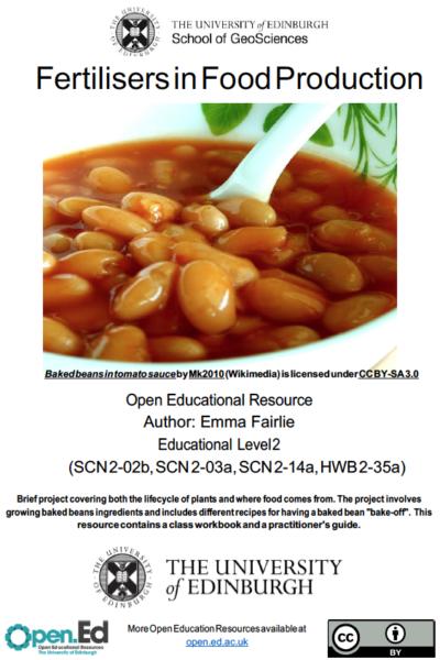 Fertilisers in Food Production (University of Edinburgh – Open.ed)