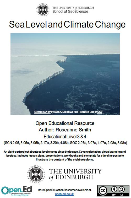 Sea Level and Climate Change (University of Edinburgh – open.ed)