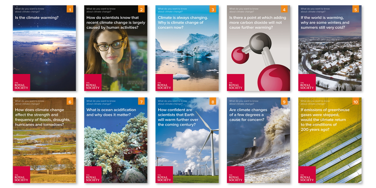What do you want to know about climate change? (Royal Society)