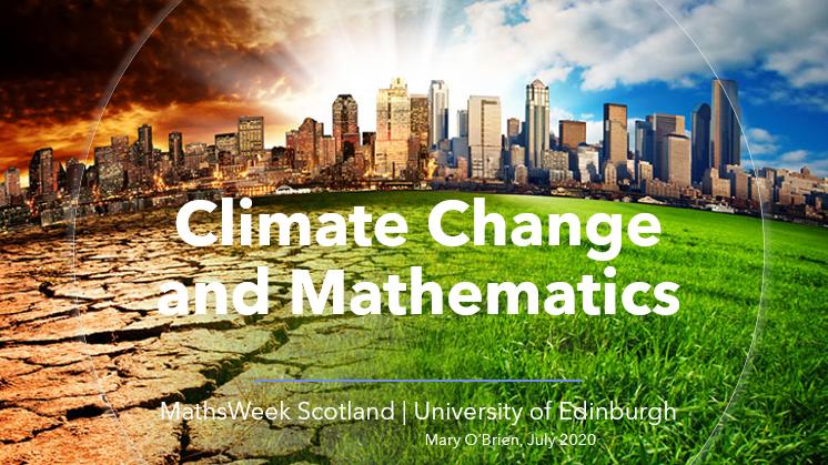 The Mathematics of Climate Change